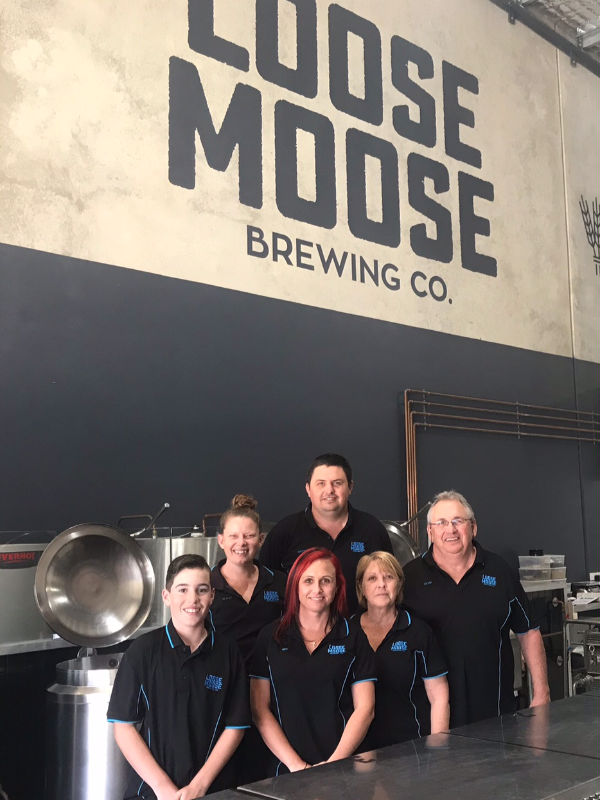 The Loose Moose Brewing Co. Staff